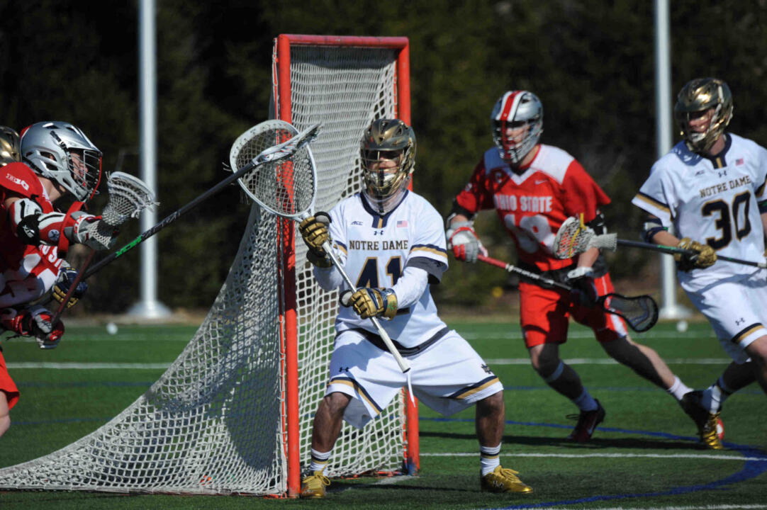 Sophomore goalie Shane Doss made 11 saves against Ohio State.