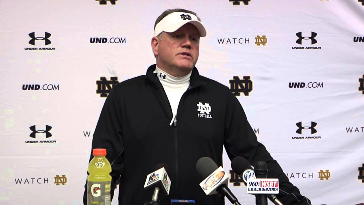 Brian Kelly Media Session - March 18, 2015
