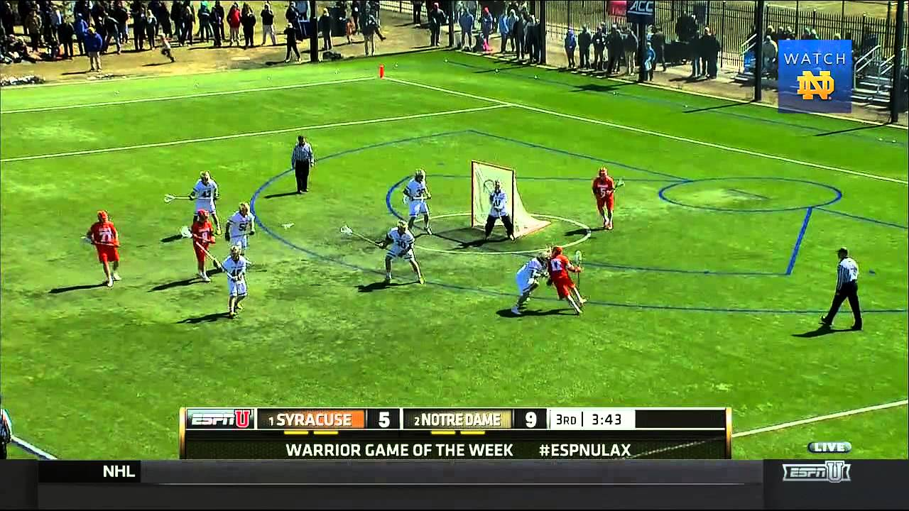 Notre Dame vs Syracuse Men's Lacrosse Highlights