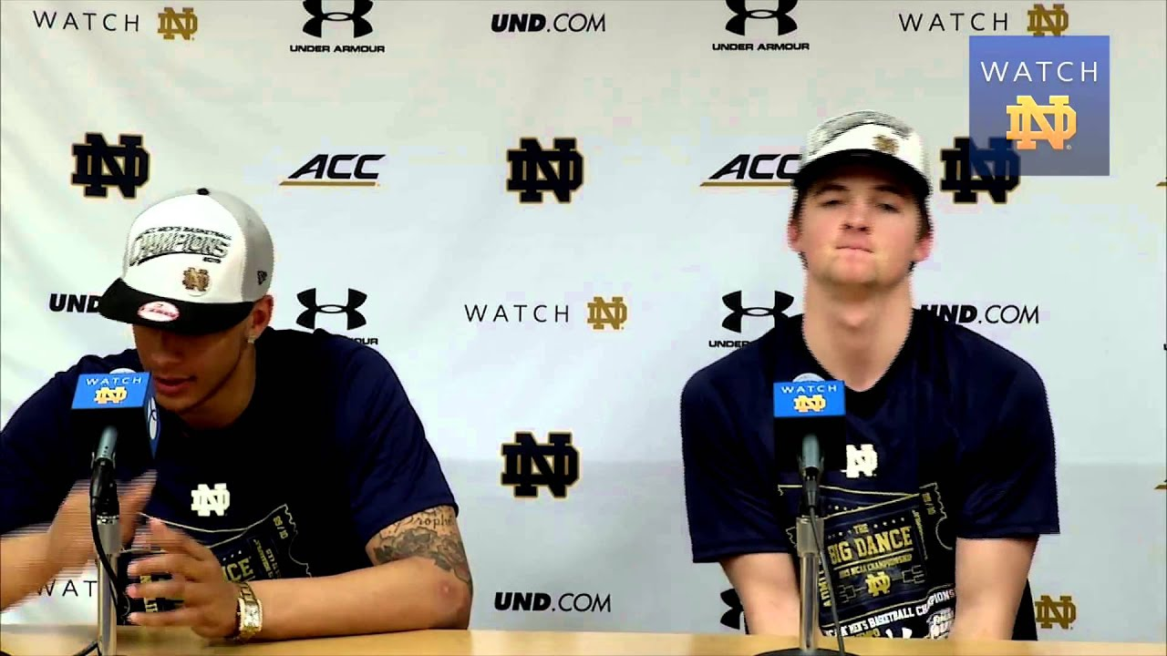 MBB - Steve Vasturia and Zach Auguste Selection Sunday Press Conference