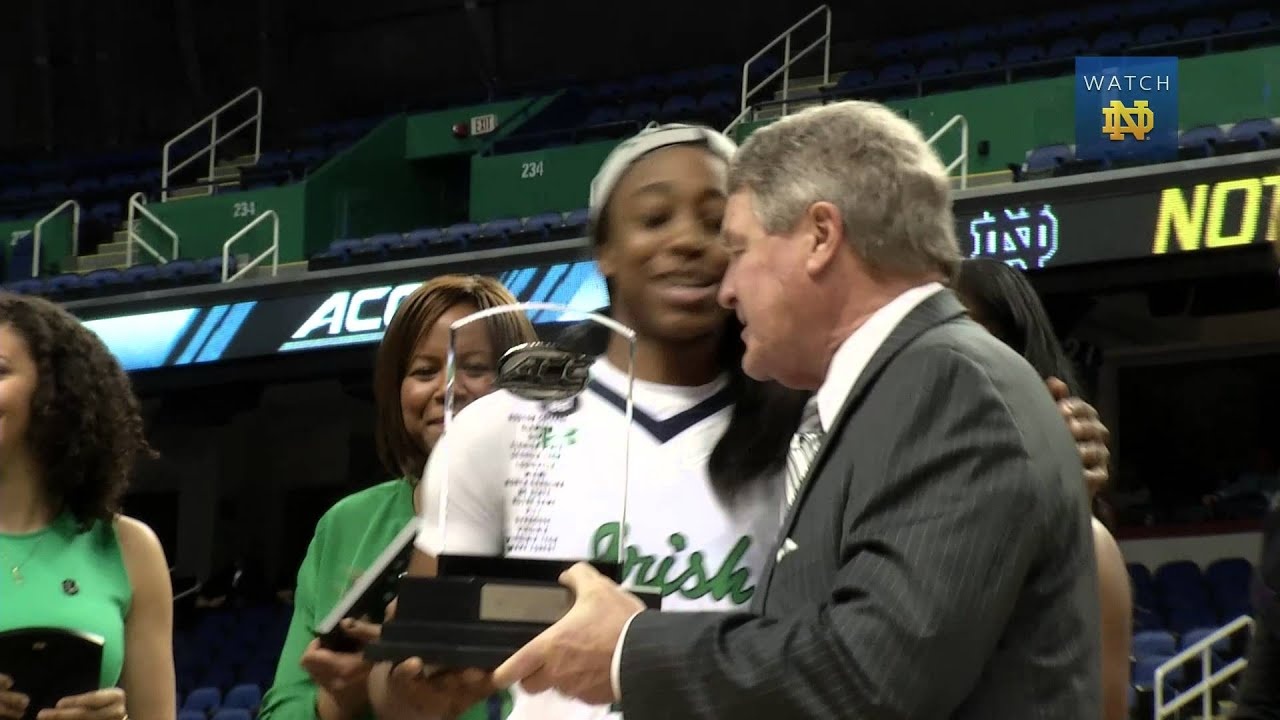 Irish Connection - WBB Wins Second ACC Championship