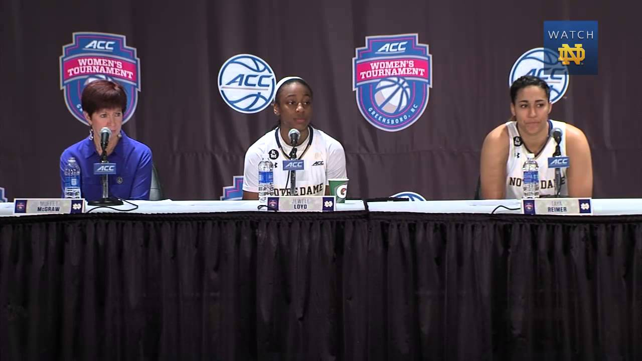 WBB - ACC Quarterfinals Post Game Press Conference