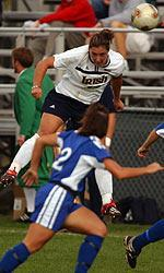 Two-time Notre Dame All-American Melissa Tancredi ('04) was named to her third FIFA Women's World Cup roster and will represent Team Canada in the WWC this summer