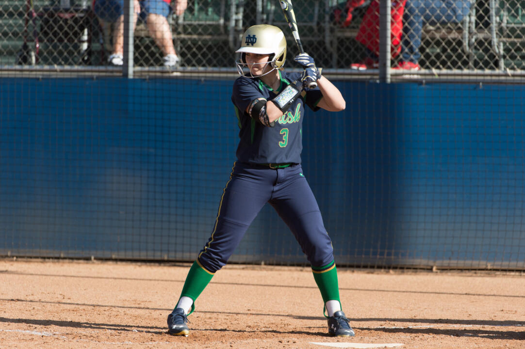Senior co-captain and two-time All-American Emilee Koerner tied the Notre Dame record for runs in a game by scoring four times in Sunday's 10-2 win at Boston College