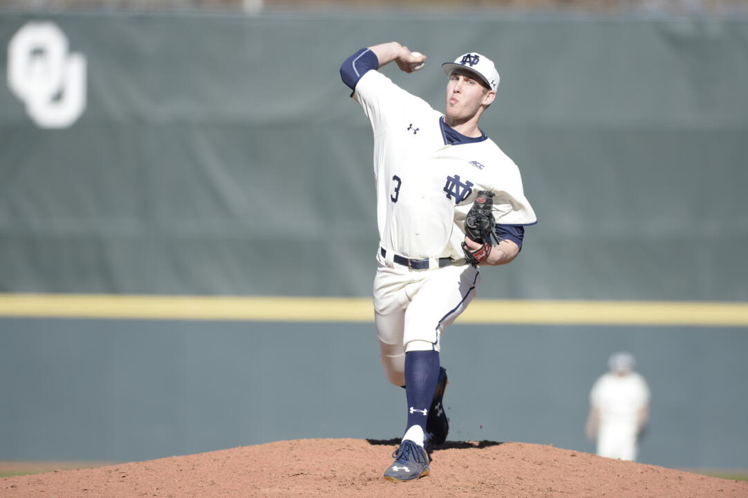 Irish sophomore RHP Ryan Smoyer