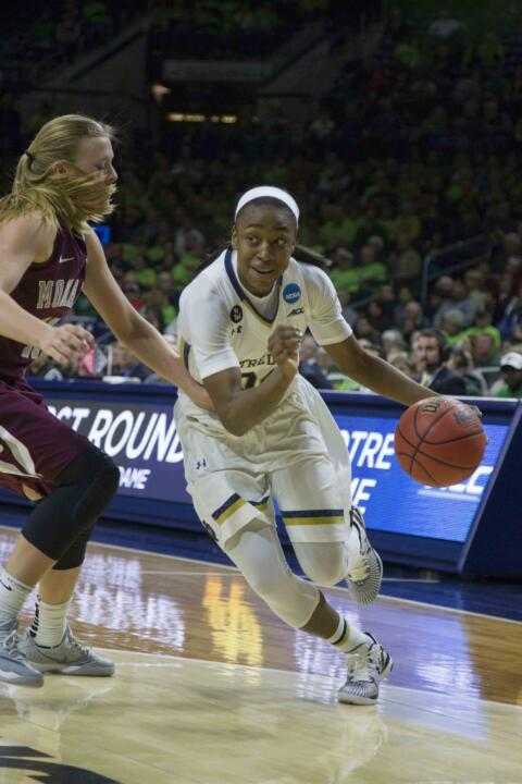 Notre Dame junior guard Jewell Loyd was selected by the Seattle Storm with the No. 1 overall pick in the 2015 WNBA Draft on Thursday night at Mohegan Sun Arena in Uncasville, Connecticut.