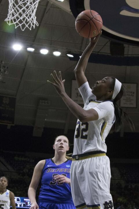 Notre Dame junior guard Jewell Loyd announced Wednesday night that she is forgoing her senior season with the Fighting Irish to enter the 2015 WNBA Draft.