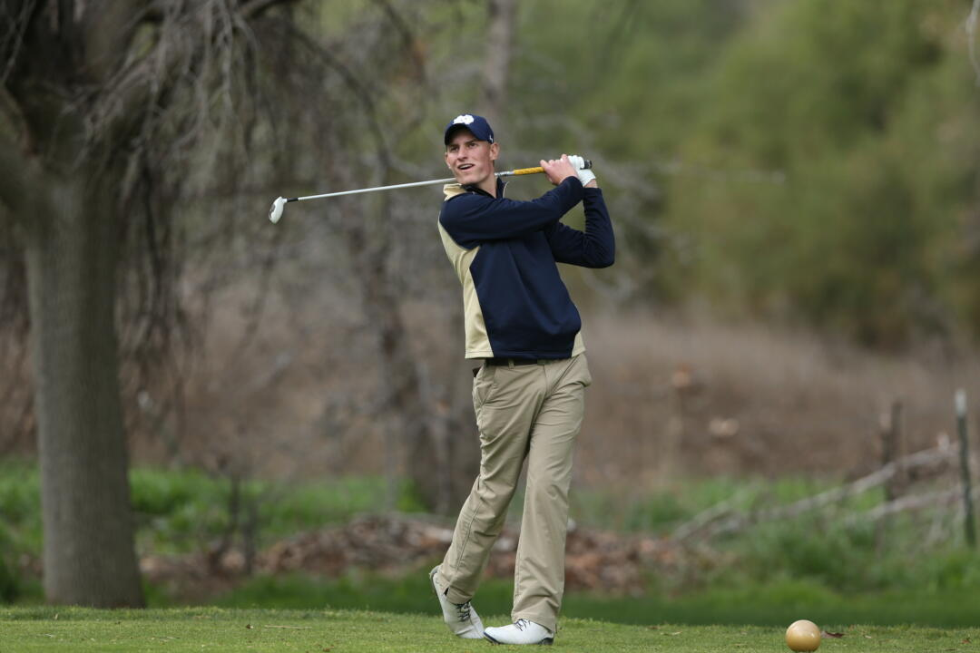 Sophomore Blake Barens was the top Notre Dame finisher at the 2015 ACC Championship, carding a final round two-over-par 74 on Sunday at the Old North State Club