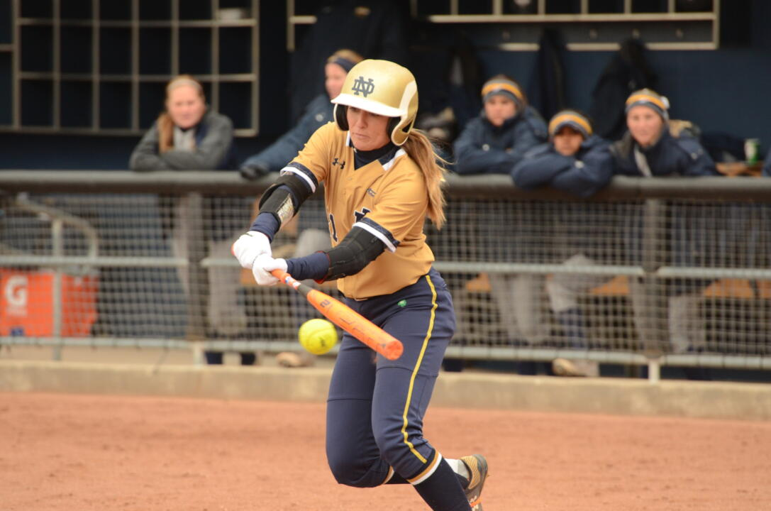 2015 USA Softball National Collegiate Player of the Year Top 26 Finalist Karley Wester had three hits, including a home run, and three RBI in Notre Dame's 11-1 win in five innings over Toledo