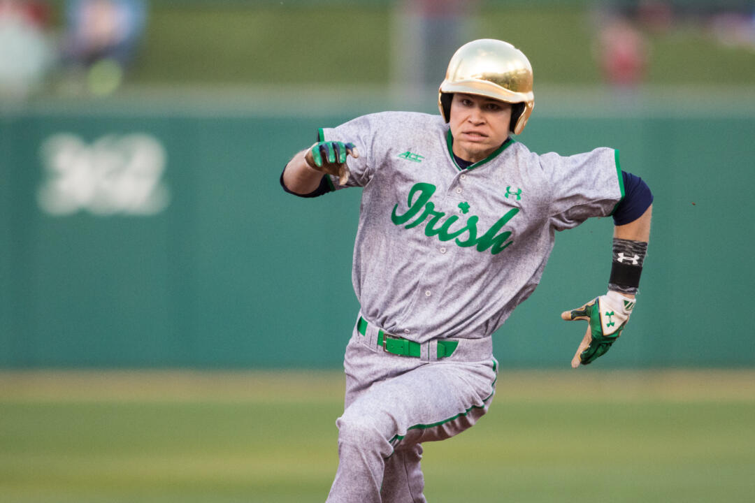 Sophomore Kyle Fiala turned in his 13th multi-hit game of the season Saturday with a 3-for-4 effort against Wake Forest.