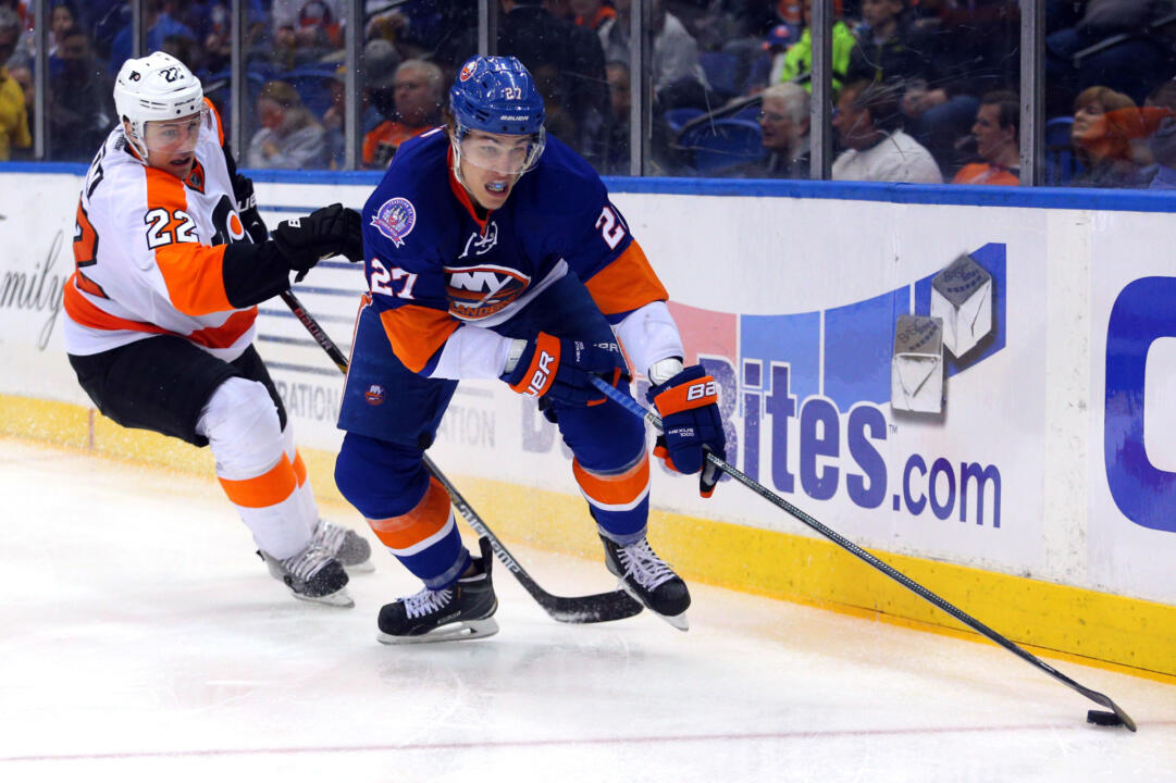 Anders Lee (27) | New York Islanders: Brad Penner-USA TODAY Sports