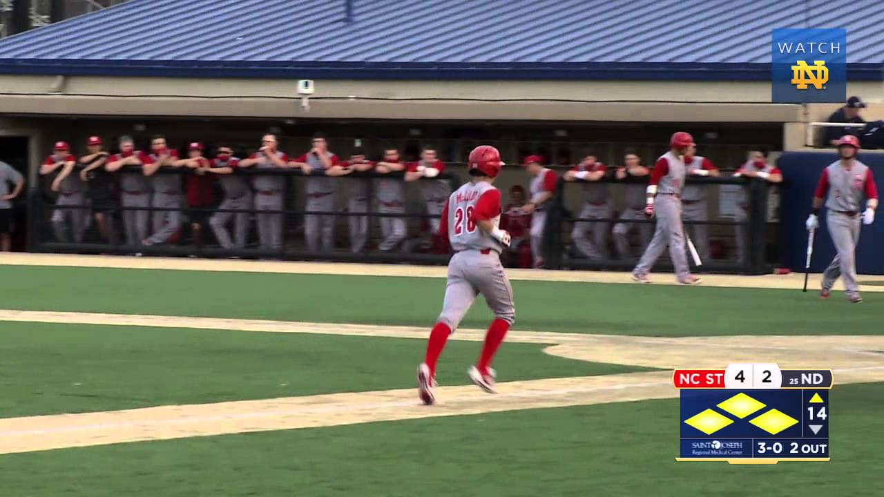 Notre Dame vs. NC State Baseball Highlights Game 2