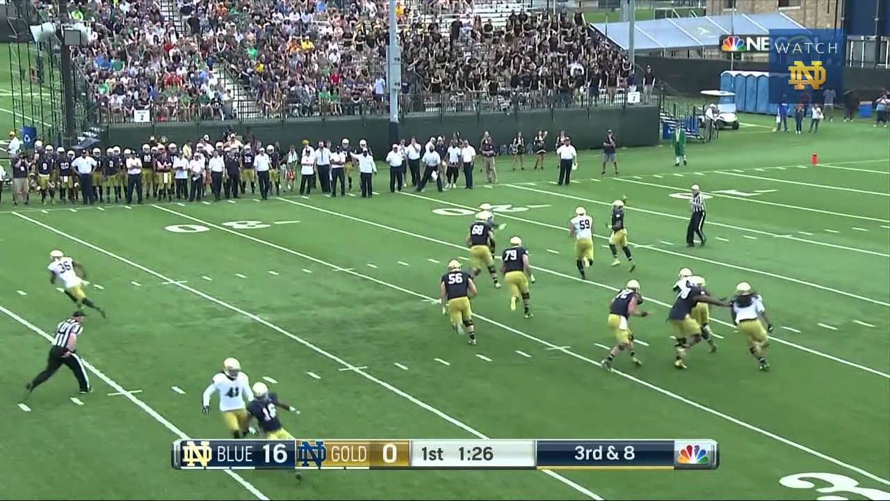 FB - Blue-Gold Game Highlights