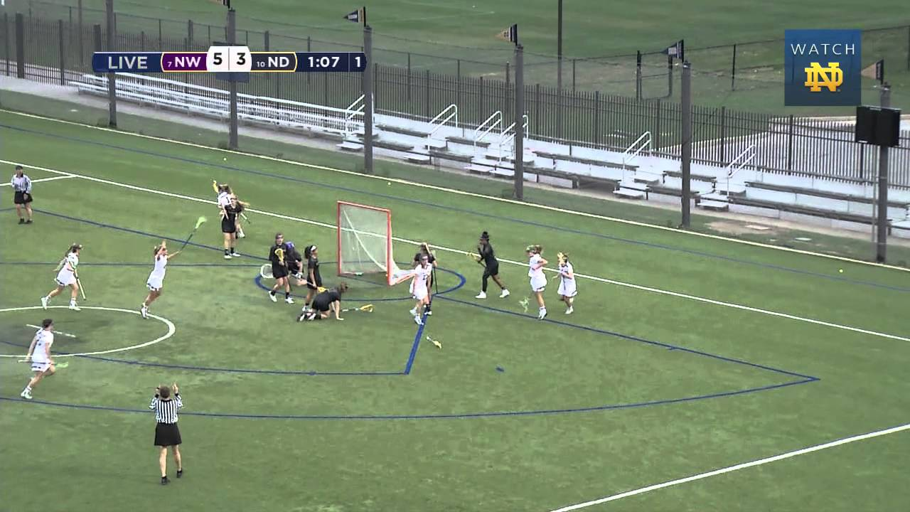 WLAX vs. Northwestern Highlights