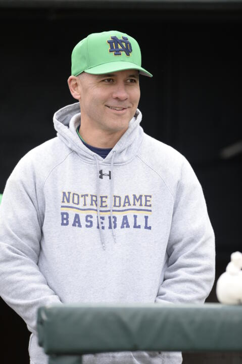 Head coach Mik Aoki and his Irish are the No. 3 seed in next week's ACC Tournament.