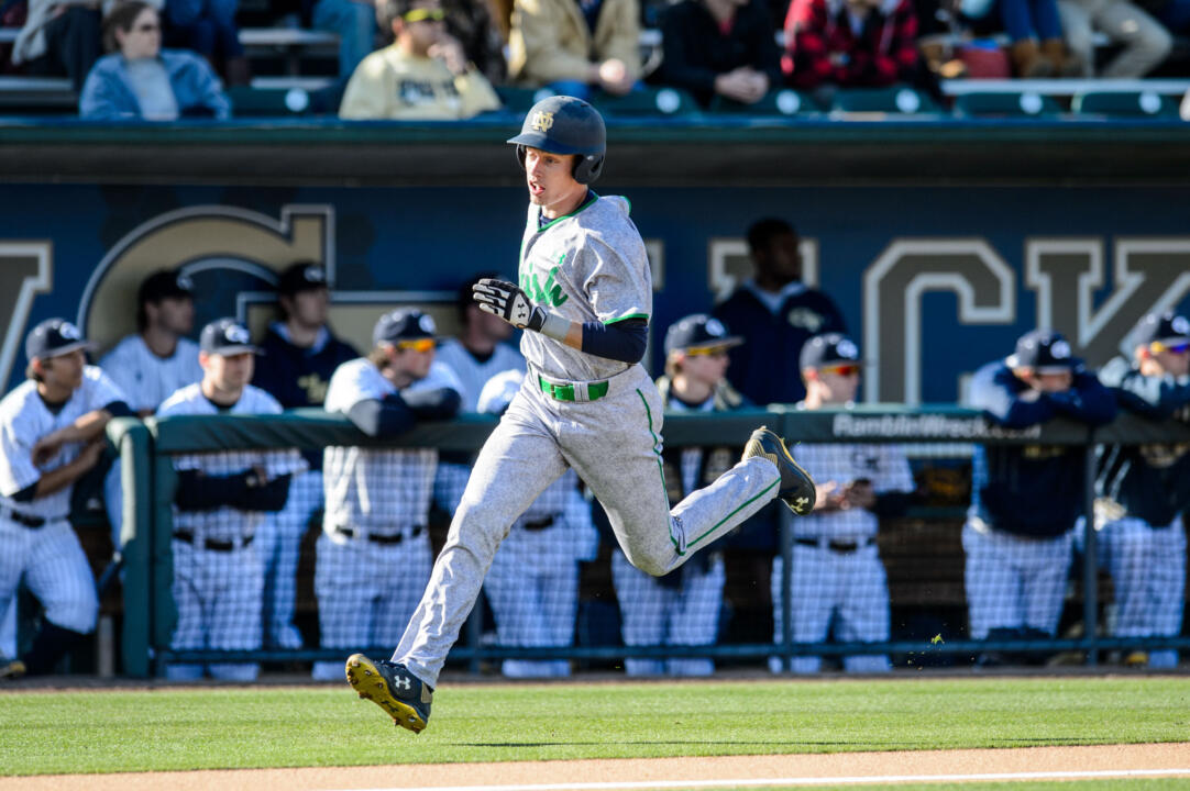 Senior Robert Youngdahl had a homer and four RBI in Thursday's 10-4 win at Boston College.