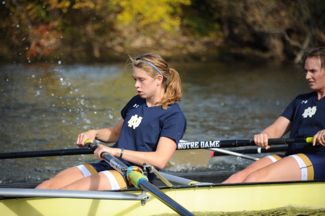 Notre Dame Class of 2015 valedictorian Anna Kottkamp was the 2014 NCAA Elite 89 Award winner for rowing, and was also the Atlantic Coast Conference (ACC) Scholar-Athlete of the Year