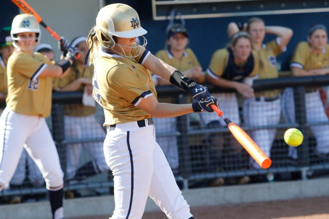 Freshman Sara White reached in all three of her plate appearances on Thursday night during the quarterfinals of the ACC Championship against Pittsburgh
