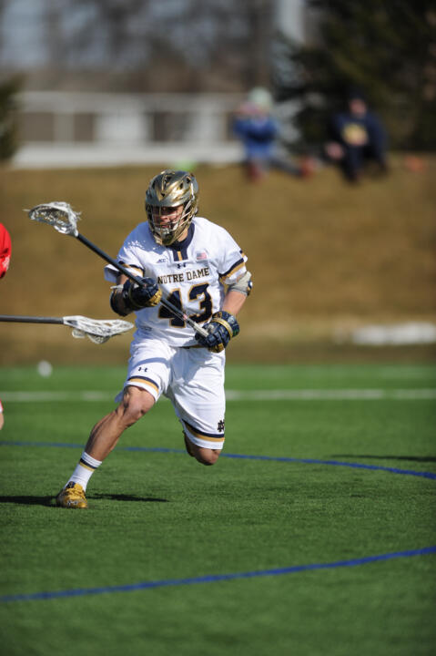 Matt Landis is the third Notre Dame player to earn one of the USILA's top awards.