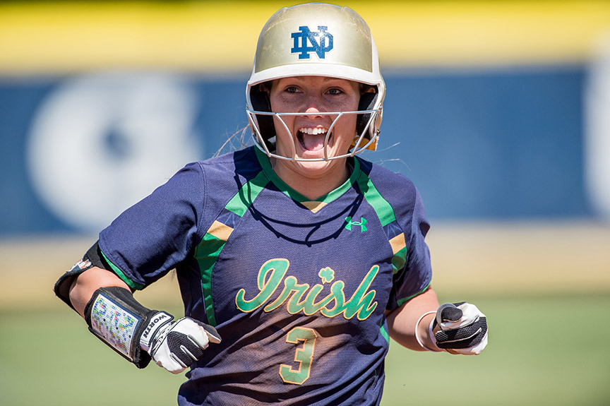 Emilee Koerner became the 14th Notre Dame player of the year recipient in program history after being tabbed the 2015 ACC Player of the Year on Thursday