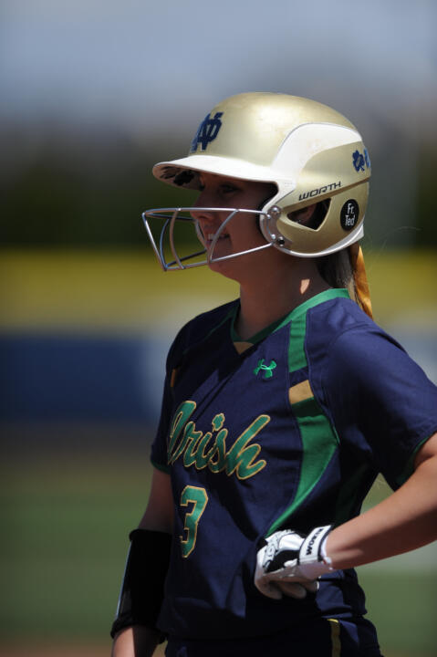 Emilee Koerner ('15) became the first Notre Dame softball player to be named an All-American in three different seasons, copping NFCA All-America third team honors on Wednesday
