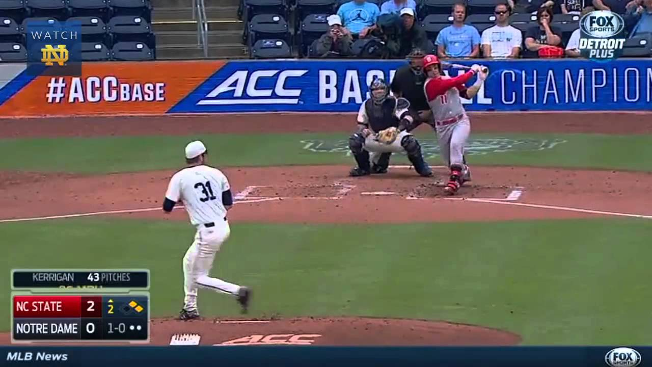 Notre Dame vs. NC State Baseball Highlights (ACC Tournament)