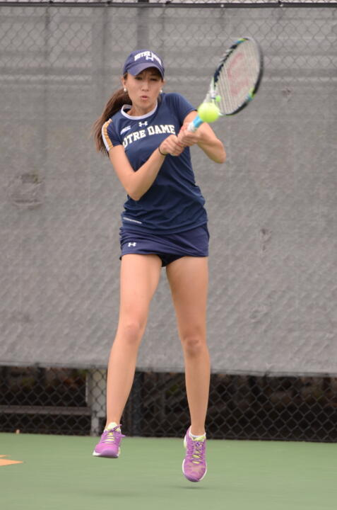 Rising senior Julie Vrabel was named to the All-ACC Academic Women's Tennis Team on Wednesday.
