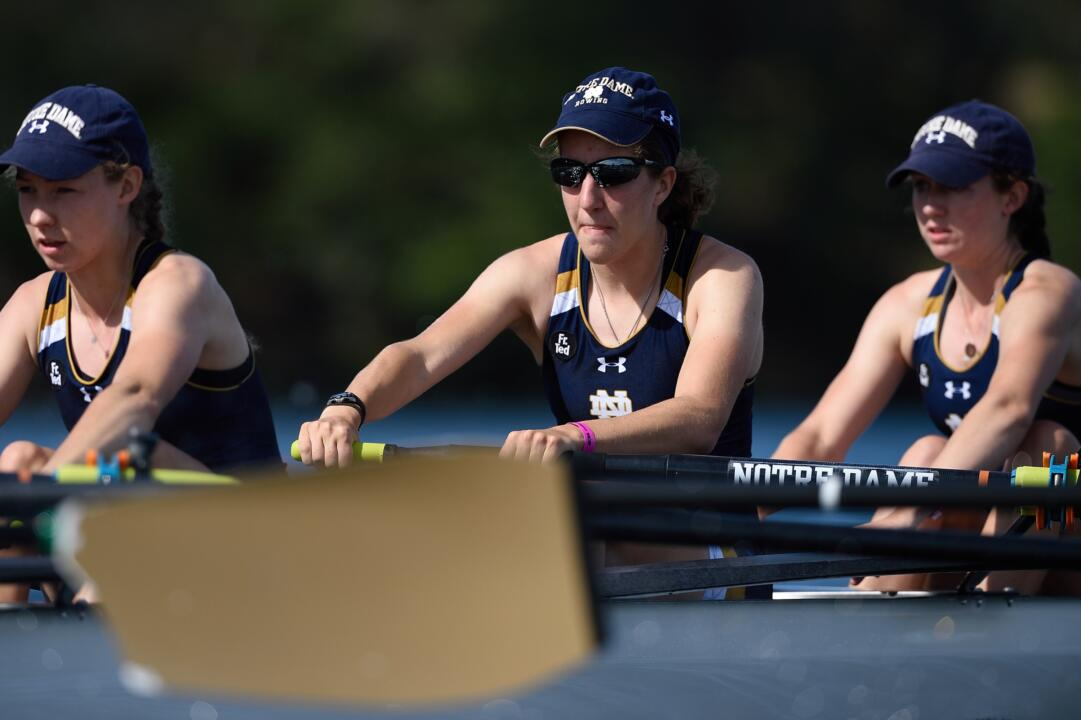 2015 graduate Rose Doerfler claimed all-ACC Rowing Academic Team honors for the second consecutive season on Monday