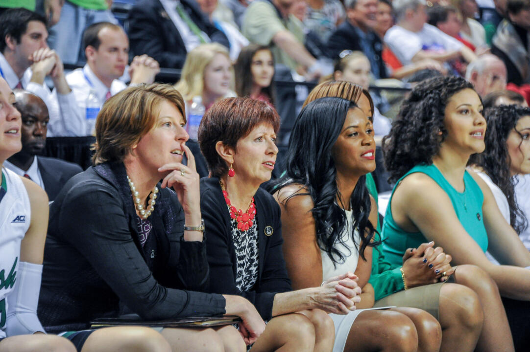 Niele Ivey (right) joined Muffet McGraw's staff as an assistant coach in 2007 and was promoted to associate coach for the Fighting Irish on Monday.