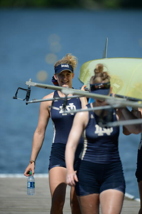 2014 Notre Dame alum Molly Bruggeman won a gold medal in the women's pair at the 2015 Pan Am Games Monday morning.