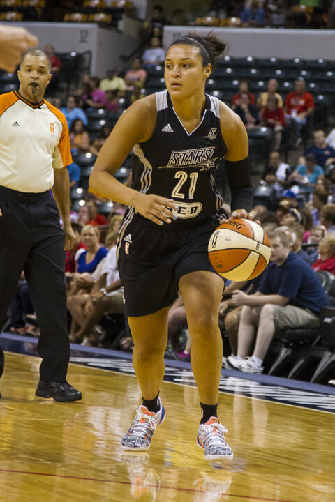 Former two-time Notre Dame All-America guard Kayla McBride ('14) earned her first WNBA All-Star honor Thursday afternoon and will suit up for the Western Conference at Saturday's WNBA All-Star Game (3:30 p.m. ET on ABC).