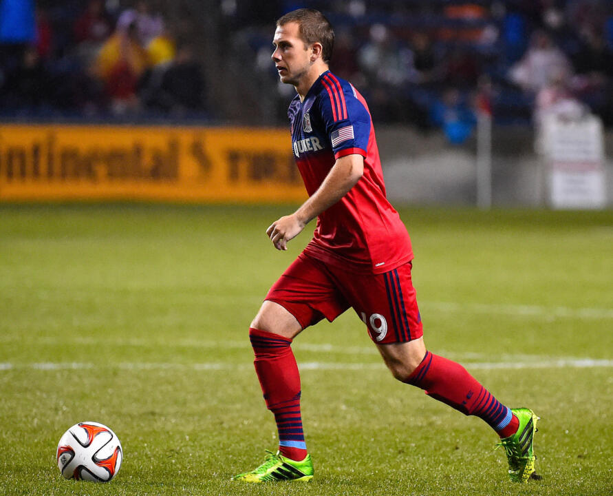 Chicago Fire midfielder Harry Shipp has scored two goals and added five assists in 19 MLS starts thus far in 2015
