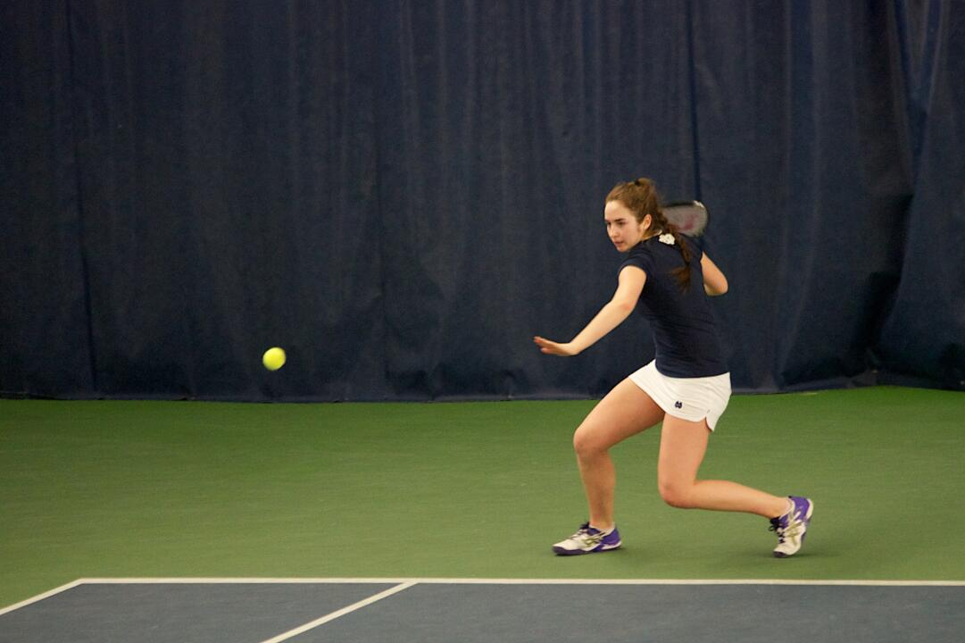 Junior Jane Fennelly turned in a strong weekend at the ITA Summer Circuit