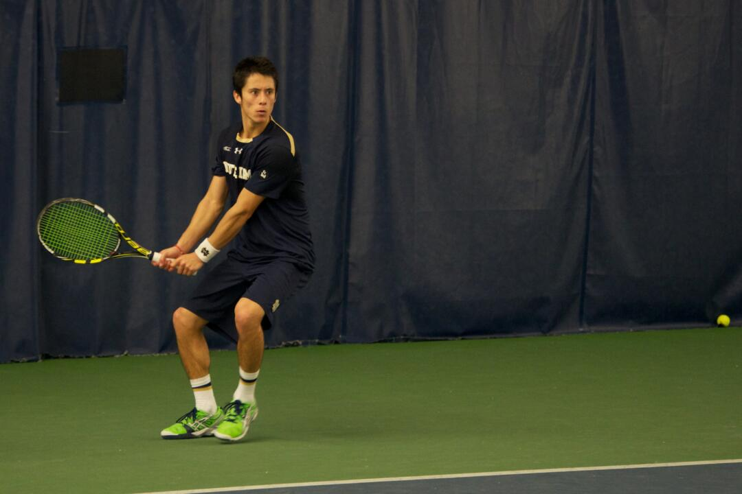 Senior Nicolas Montoya notched his third straight ITA Summer Circuit Regional doubles title as Notre Dame hosted the event, which wrapped Tuesday.