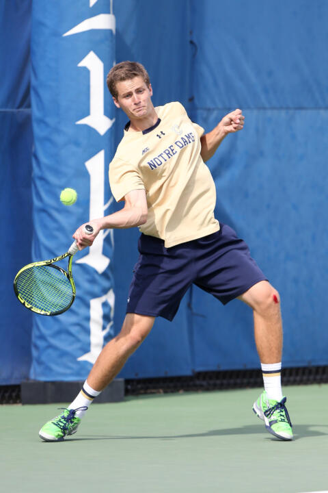 All-American Quentin Monaghan will join seven other elite collegiate tennis players this fall at the American Collegiate Invitational, held in conjunction with the US Open.