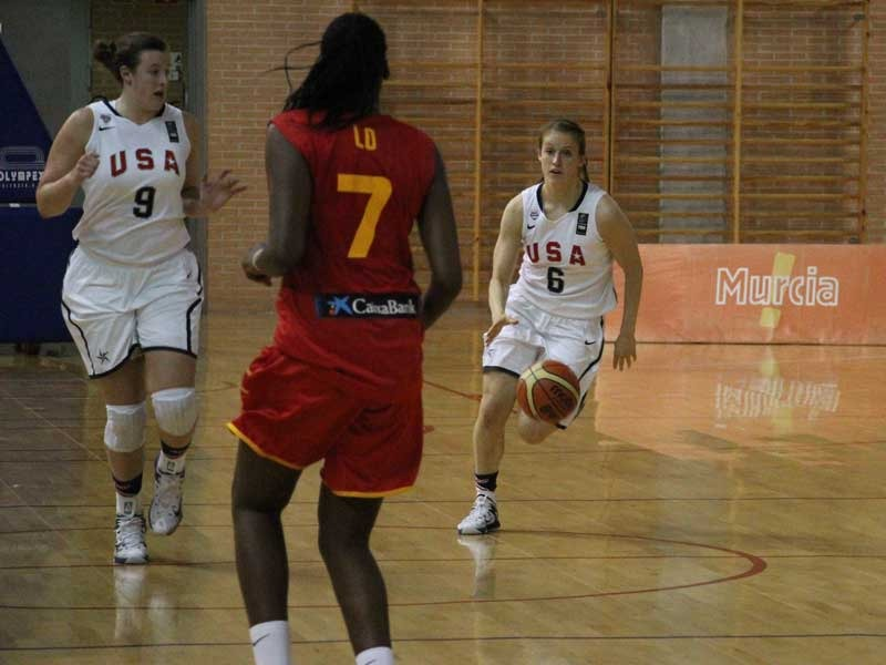 Notre Dame freshman guard Ali Patberg and the USA Basketball Under-19 National Team tip off group play at the FIBA U19 World Championships at 1:15 p.m. (ET) Saturday against Spain in Chekhov, Russia.