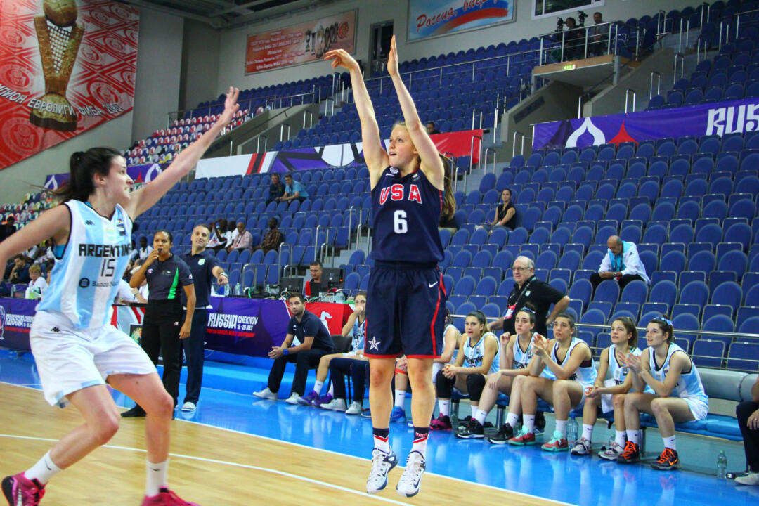 Notre Dame freshman guard Ali Patberg averaged 3.7 points, 4.6 rebounds and 2.0 assists per game with two near double-doubles in helping Team USA to the gold medal at the FIBA U19 World Championship Sunday afternoon in Chekhov, Russia.