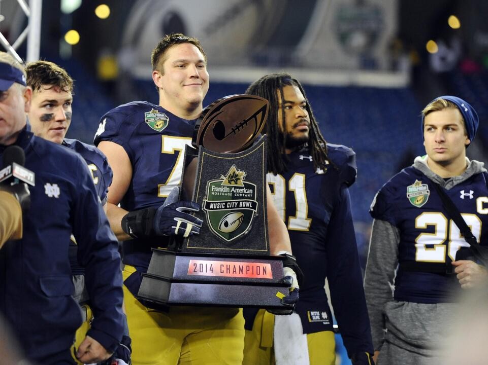 Nick Martin and Sheldon Day both joined the list of multi-time Notre Dame football captains after being tabbed for the honor for the second time in 2015