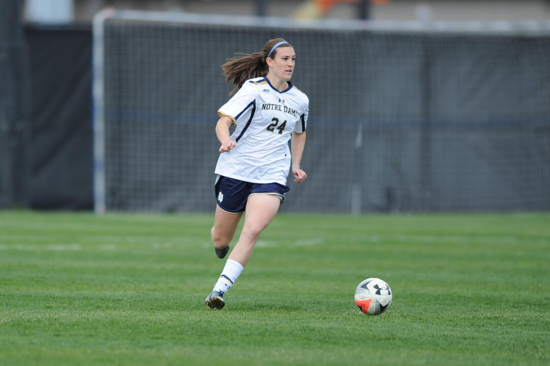 Senior Katie Naughton was named to the TopDrawerSoccer.com Preseason Best XI Third Team on Monday.