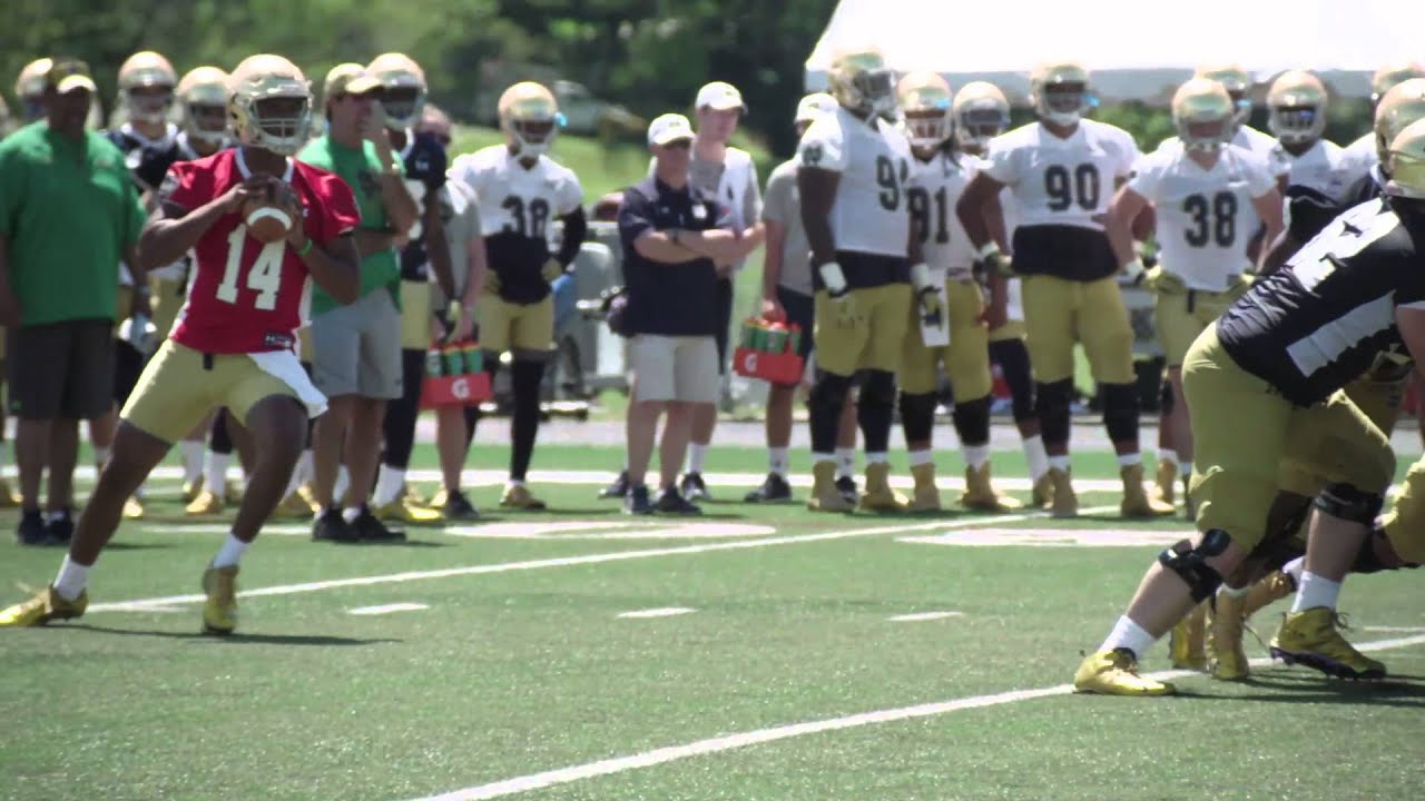 FB: Coach Kelly's First Impressions on a Young Season