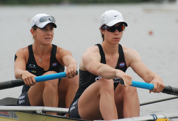 2008 alum Amanda Polk won a gold medal with the women's eight at the World Rowing Championships Sunday in Aiguebelette, France.
