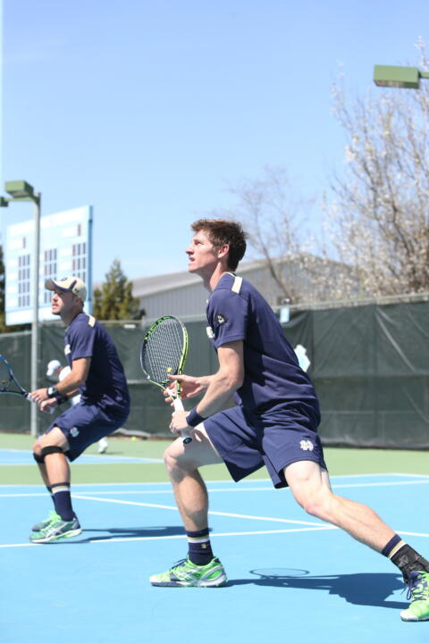 Senior Alex Lawson will join teammate Quentin Monaghan in the doubles draw of the inaugural Oracle/ITA Masters this weekend. The pair enter the fall ranked No. 28 nationally.