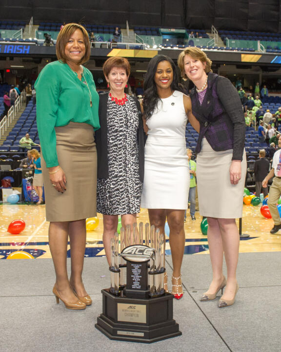 In the past three years, Notre Dame coaches Carol Owens, Muffet McGraw, Niele Ivey and Beth Cunningham have led the Fighting Irish  to a 108-6 (.947) record, three Final Fours (including two national championship games), three conference regular-season titles and three conference tournament titles while training four of the five players currently on WNBA rosters.