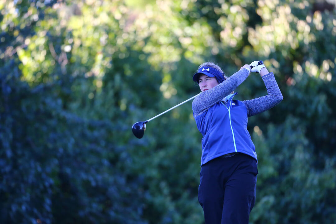 Senior captain Talia Campbell is tied for fourth place at 146 (+2), helping Notre Dame grab a four-stroke lead through 36 holes at the Mary Fossum Invitational in East Lansing, Michigan.