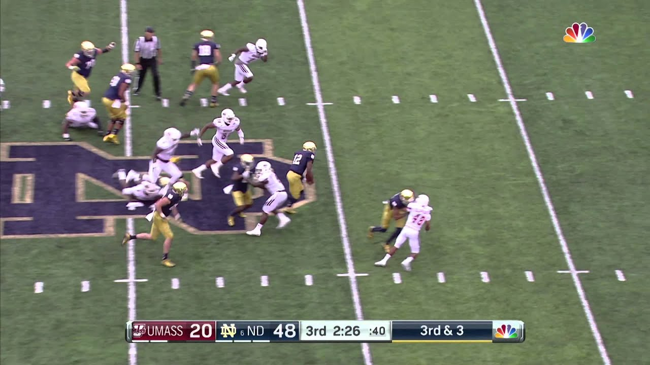 Quick Plays: 58 Yard Scamper for Wimbush (55-20)