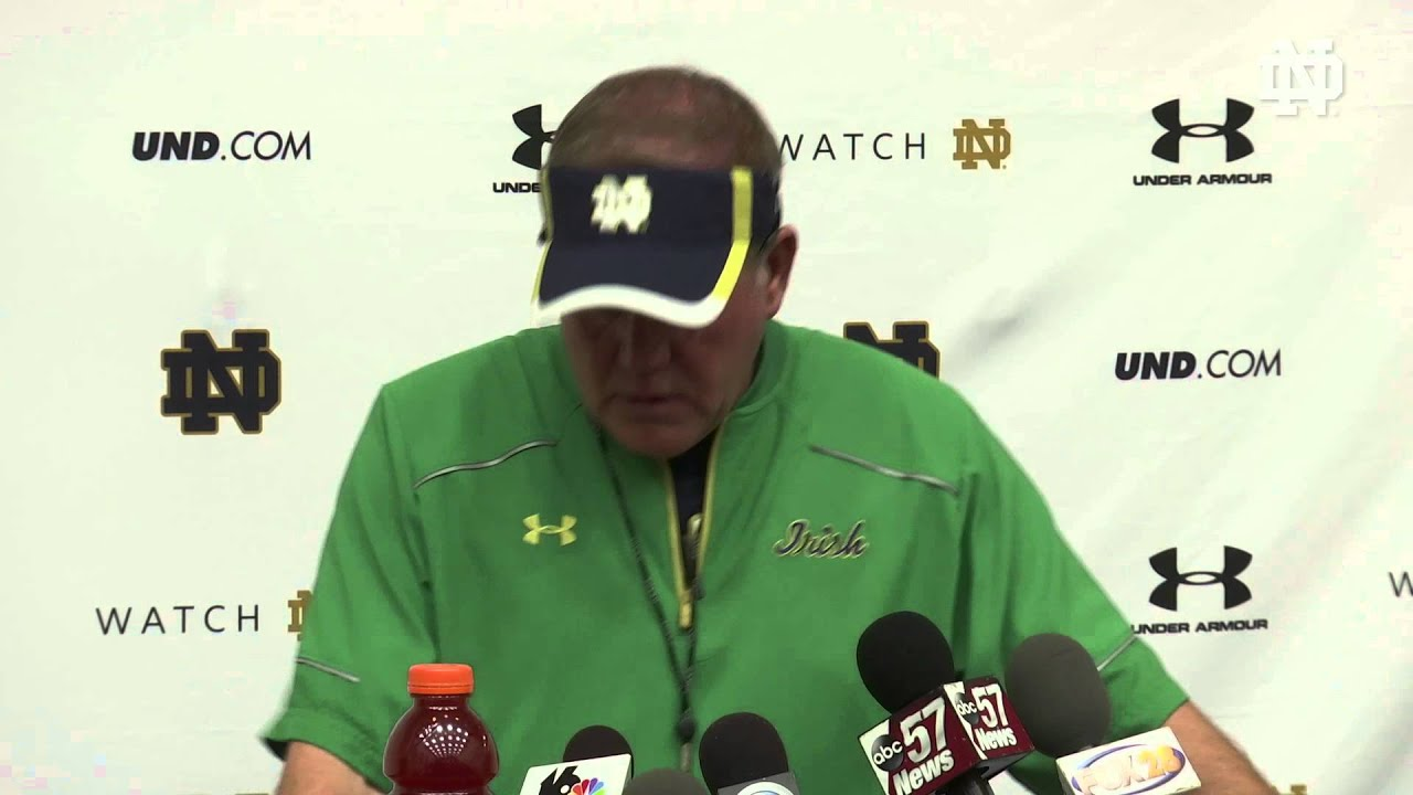 Coach Kelly Media Session - September 24, 2015