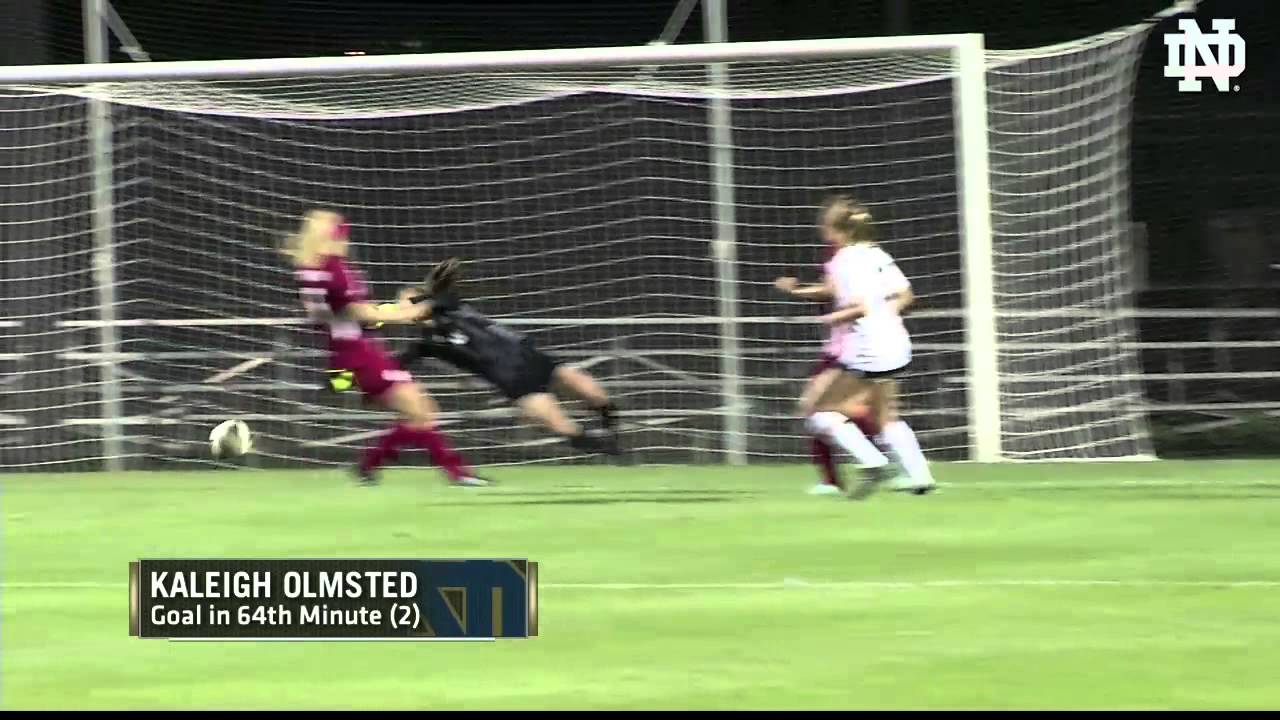 Notre Dame vs Indiana Women's Soccer Highlights