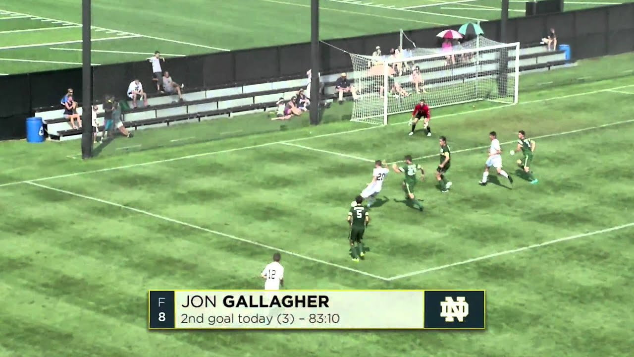 Notre Dame vs UAB Men's Soccer Highlights