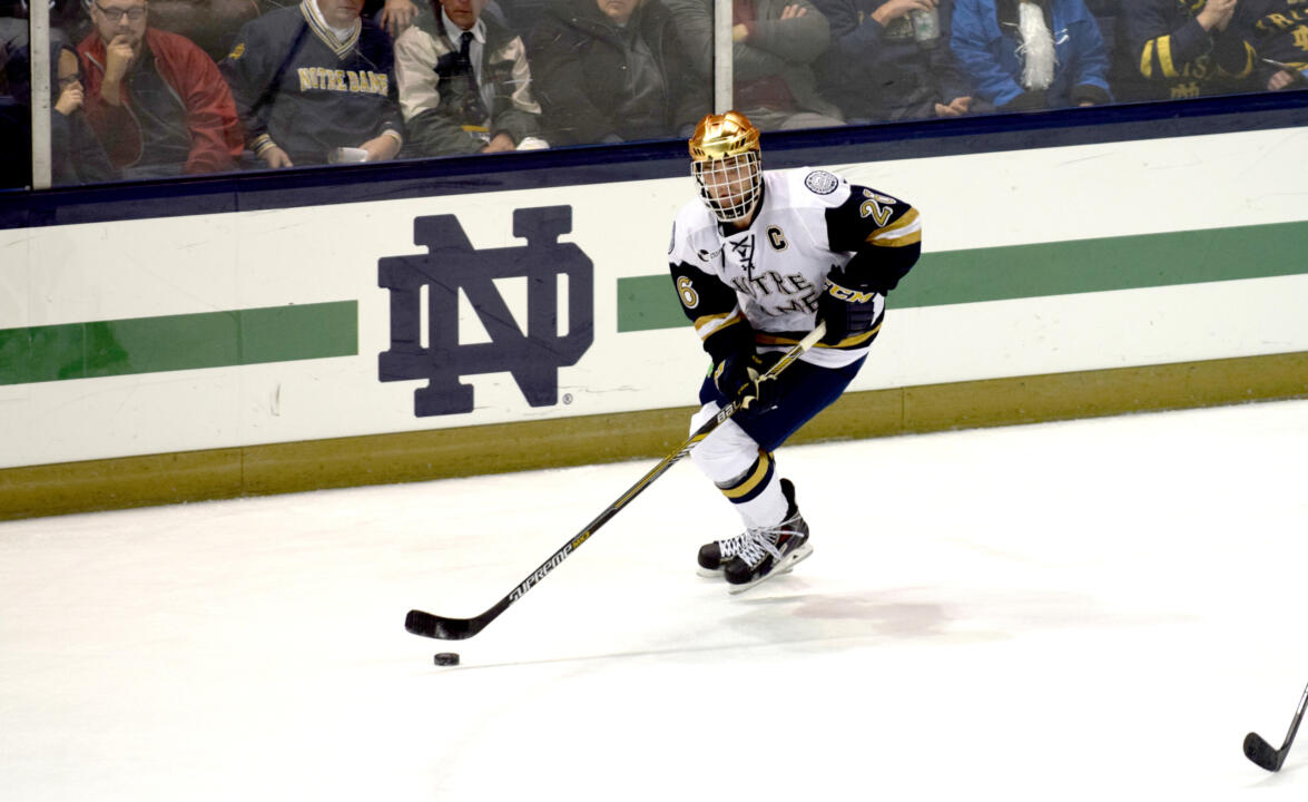 Steven Fogarty is the 15th player to be named a two-year captain with the Irish.