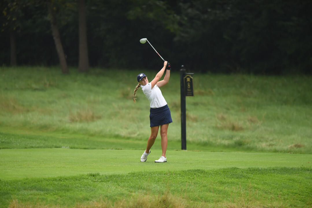 Freshman Maddie Rose Hamilton will lead Notre Dame into her hometown of Louisville for the Cardinal Cup, which will take place Monday and Tuesday at the University of Louisville Golf Club (par 72/6,132 yards).